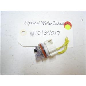 WHIRLPOOL DISHWASHER W10134017 OPTICAL WATER INDICATOR USED PART ASSEMBLY