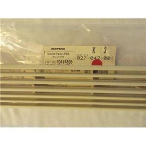 KENMORE AMANA REFRIGERATOR 10474805  Grille, Toe (bisque)   NEW IN BOX