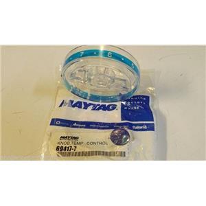 MAYTAG JENN AIR  REFRIGERATOR 69417-7 Temp control knob  NEW IN BAG
