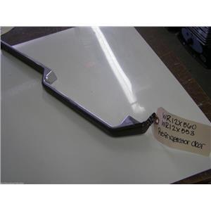 GE REFRIGERATOR FRIDGE DOOR BROWN HANDLE WR12X553 WR12X560