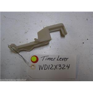 HOTPOINT DISHWASHER WD12X324 DETERGENT TIMER LEVER USED PART ASSEMBLY