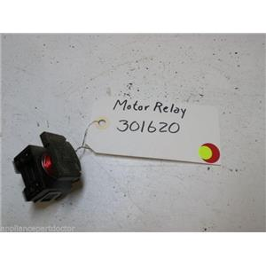 WHIRLPOOL DISHWASHER 301620 MOTOR RELAY USED PART ASSEMBLY