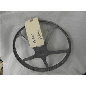 BOSCH FRONT LOADER WASHER 436480 PULLEY USED PART ASSEMBLY