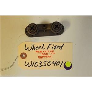 KITCHENAID DISHWASHER W10350401 Mount, Wheel Fixed    NEW W/O BOX