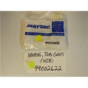 Maytag Amana Dishwasher  99002622  Wheel, Tub (Wht)  NEW IN BOX