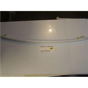 Amana STOVE 316792W  Handle, Door (wht) Touch up dimple  USED