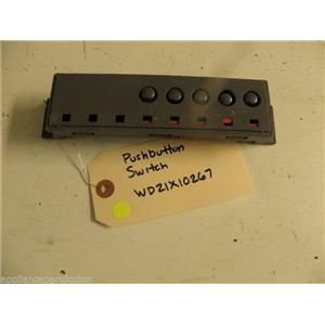 GE DISHWASHER WD21X10267 PUSH BUTTON SWITCH USED PART ASSEMBLY F/S