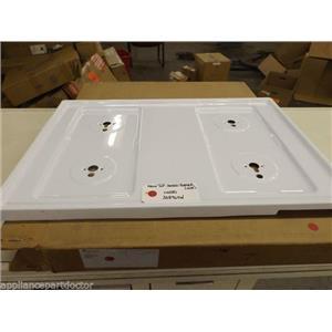 Maytag Amana Stove 308964W Maintop, Sealed Burner (white)   NEW IN BOX