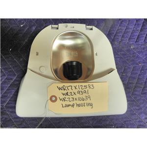 GE REFRIGERATOR WR17X12583 WR2X9391 WR23X10639 LAMP HOUSING,SOCKET & TERMINAL