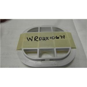 GE GENERAL ELECTRIC SIDE BY SIDE REFRIGERATOR WR02X10671 AIR RETURN GRILL