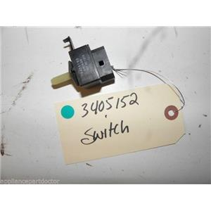 KENMORE ELITE ELECTRIC DRYER 3405152 SWITCH USED PART ASSEMBLY F/S