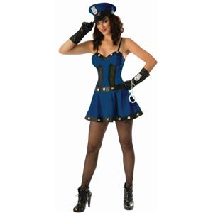 Forum Womens Sexy Cop Adult Costume Size M/L