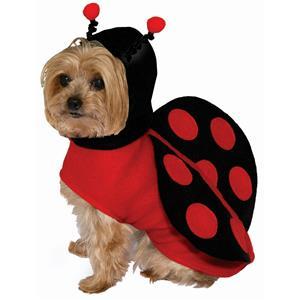 Lady Bug Ladybug Pet Dog Cat Costume Size Small