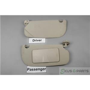Chevrolet Cobalt Pontiac G5 Sun Visor Set  Passenger Covered Mirror 2005-2010