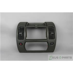 2005-2008 Nissan Xterra Radio Climate Dash Trim Bezel w/ Vents and Hazard Switch