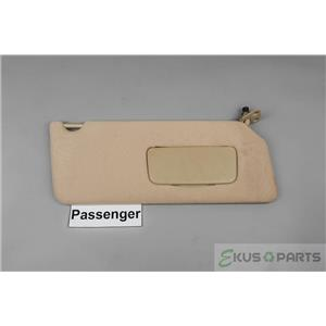 2002 Toyota Camry Sun Visor - Passenger Side with Covered Mirror