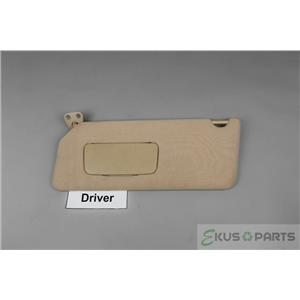 2002-2006 Toyota Camry Driver side Cloth Sun Visor with Covered Mirror