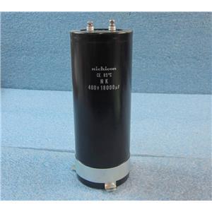 Nichicon Aluminium Electrolytic Capacitor - CE 85 ° C NK  400V 18000uf
