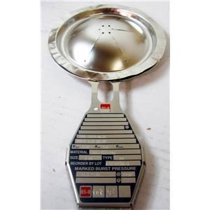 "BS&B 500-7019-01.11 Rupture Disc 3"" MNFA 5.41 Sq. In 14.5 PSIG @ 245° F Type DV"
