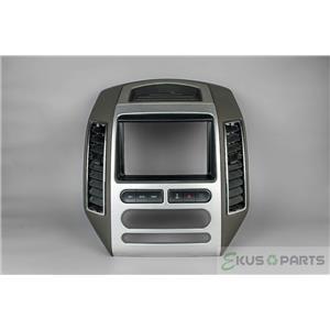 2009-2010 Ford Edge Radio Automatic Climate Control Dash Trim Bezel