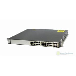 Cisco WS-C3750E-24PD-S Catalyst 3750E 24-Ports 10/100/1000 PoE and 2 10GB Uplink
