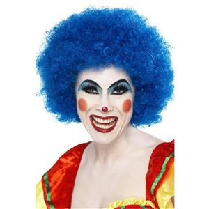 Smiffy's Blue Crazy Clown Wig