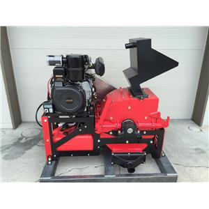"""8"""" Jaw Ore Crusher-Gold Mining-10HP Electric Motor-Rock down to 1/4"""" to 3"""""""