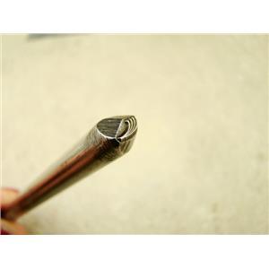 "Indian ""Plant Frawn"" Symbol 3/16""-5mm-Stamp-Metal-Hardened -Gold&Silver Bars"