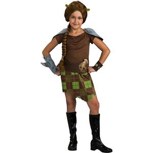 Shrek 4: Princess Fiona Warrior Child Costume Size Large 12-14