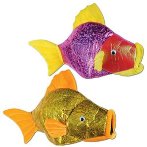 Fish Hat Assorted Colors