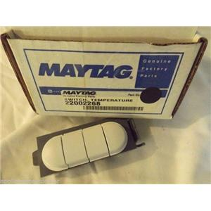 MAYTAG WASHER 22002268 Switch, 4 Position (wht)  NEW IN BOX