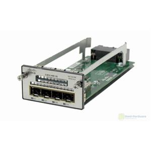 Cisco C3KX-NM-1G Four GbE Port Network Module for Catalyst 3560x & 3750x