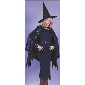 Rainbow Star Witch Adult Costume