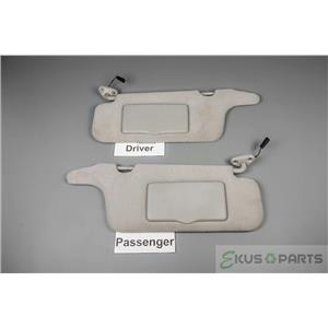 2000-2004 Subaru Legacy 03-2006 Subaru Baja Sun Visor Set Lighted Mirrors Straps