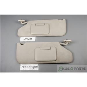 2006-2010 Dodge Charger Magnum Chrysler 300 Sun Visor Set with Covered Mirrors