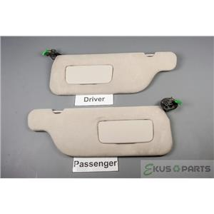 1999-2003 Ford Windstar Sun Visor Set with Covered Lighted Mirrors and Homelink