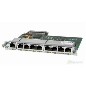 Cisco HWIC-D-9ESW 9-port 10BASE-T/100BASE-TX Ethernet Switch Router Module
