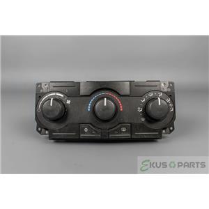 2005-2008 Dodge Magnum Climate Control Unit Panel Defrost NON-Chrome Knobs