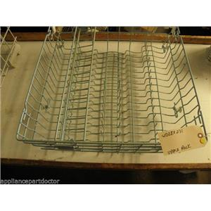 GE DISHWASHER WD28X231 UPPER RACK USED PART *SEE NOTE*