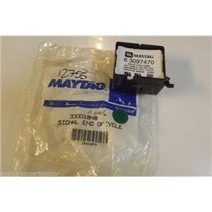 MAYTAG Dryer 33001848 Signal end of chime NEW IN BOX