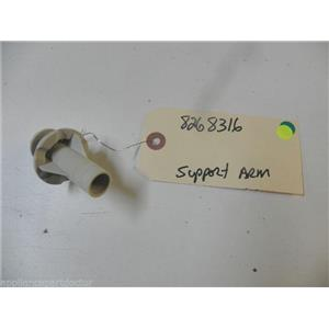 KENMORE DISHWASHER 8268316 SUPPORT ARM USED PART ASSEMBLY