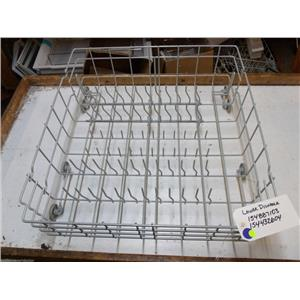 FRIGIDAIRE DISHWASHER 154887103 154432604 GREY LOWER RACK USED PART *SEE NOTE*