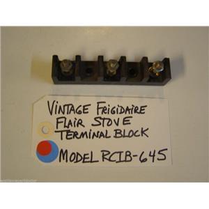 Model RCIB-645 Vintage Frigidaire Flair Stove Terminal Block