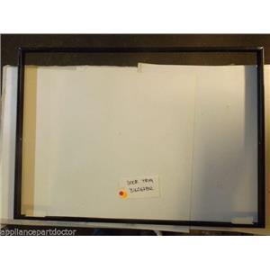 FRIGIDAIRE Stove 316067802 Trim,oven Door ,black  used