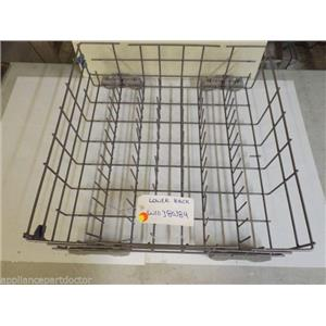WHIRLPOOL DISHWASHER W10380384 LOWER RACK USED PART *SEE NOTE*