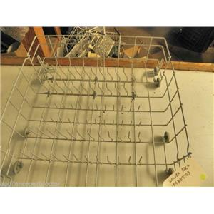 FRIGIDIARE DISHWASHER 154887103 154432604 GREY LOWER RACK USED PART *SEE NOTE*