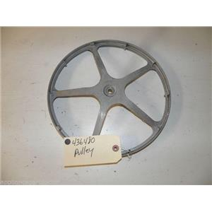 BOSCH WASHER 436480 PULLEY USED PART ASSEMBLY FREE SHIPPING