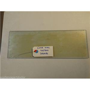 WHIRLPOOL STOVE 9758164 3186282 Glass, Inner  USED PART