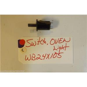 GE STOVE WB24X105 Switch, Oven Light  USED PART
