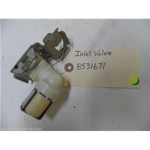 KENMORE DISHWASHER 8531671 INLET VALVE USED PART ASSEMBLY